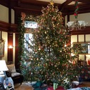 The Parish House Decorated for Christmas photo album thumbnail 1